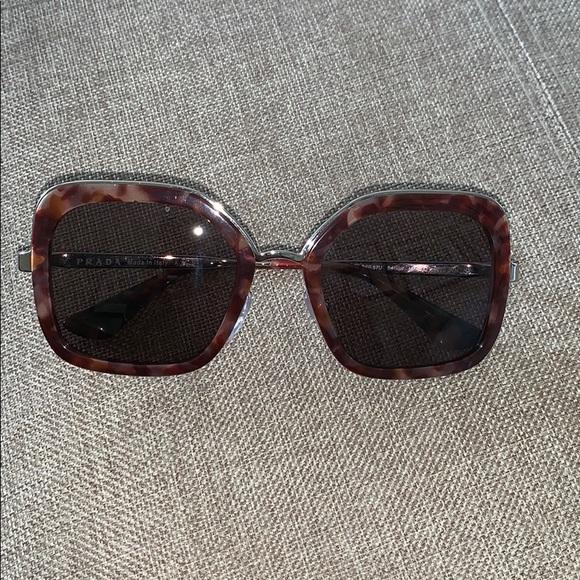 5b0f7d8d5cf1 PRADA Accessories | Sunglasses Spr 57u | Poshmark